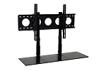 Combo Pack - 3' TV Smart Shelf™ and Wall Mount - Black Glass
