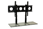 Combo Pack - 3' TV Smart Shelf™ and Wall Mount - Clear Glass